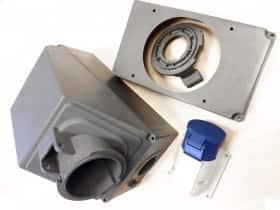 injection plastique Prises industrielles