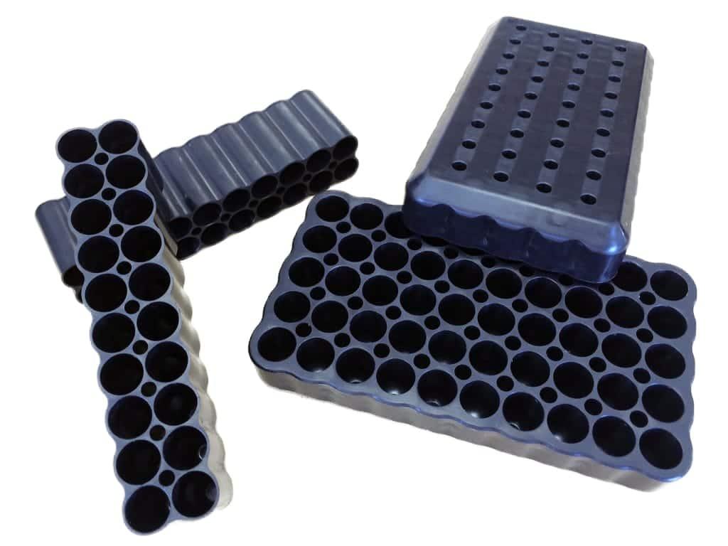 Injection Plastique inserts : boite insert douilles balles