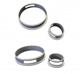 anneaux de protection que vous pouvez voir à la jonction des élément qui composent les garde corps et rambardes