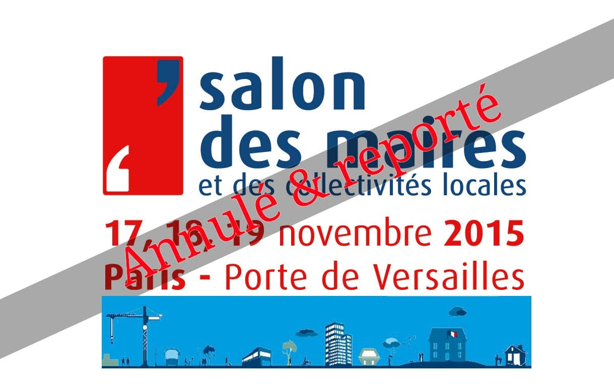 Smf le salon des maires report fabrication pi ces for Salon porte de champerret horaires